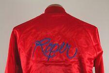 Vtg Lightweight Nylon Roper Cowboy Jacket - Red Windbreaker Large L