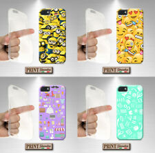 Cover For , Nokia Lumia, Emoticon, Signs, Writing, Collage, Silicone, Soft, Slim