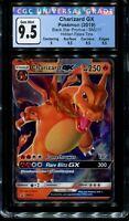 CGC 9.5 Gem Mint Charizard Gx Hidden Fates SM211 Promo Pokemon Card (PSA 10 BGS)
