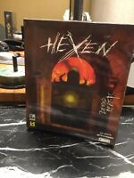 Hexen Beyond Heretic BiG Box Sealed Super Rare !