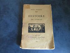Histoire de l'Orne par René Poisson de 1924