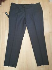 Remus Uomo Trousers, 44R, Blue and Grey Check, BNWT, REDUCED!