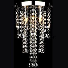 vidaXL Lampada da Soffitto Bianca in Metallo con Perline Cristallo Lampadario