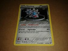 CARTA POKEMON KLINKLANG NERO E BIANCO 76/114 RARA HOLO NEAR MINT