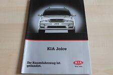 113012) Kia Joice Prospekt 04/2001