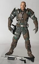 """McFarlane Halo 3 ODST Sergeant Sgt Forge Unmasked 5"""" Fearless Leaders"""