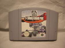 nintendo 64 F1 world grand prix   jeux course