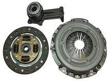 Ford Fiesta MK5 1.6 (100bhp) 01-03, Fusion 1,6 (100bhp) 02- 3 Piece Clutch Kit