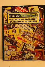 Bags Unlimited Magazine - Collection Protection & Archival Supplies,  Since 1976