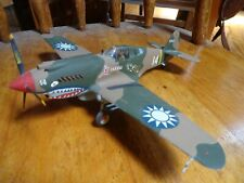 1:48 Scale Model- Flying Tigers Chinese P40 Warhawk