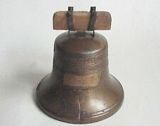 Antique 1919 Liberty Bell Savings Bank Leipsic Oh Ohio