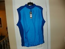 New ADIDAS ADICLUB WIND VEST MEN GOLF Light Blue $65 XL