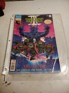 Teenage Mutant Ninja Turtles The Movie 3 #1