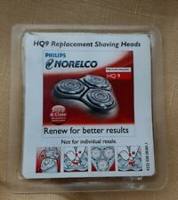Norelco HQ9 Replacement Shaving Heads New Free Shipping
