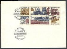 SWEDEN 1970 INDUSTRY FDC (ID:403/D27422)