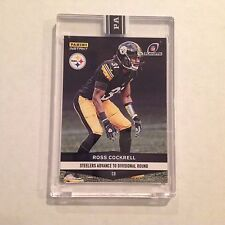 #746 Ross Cockrell Duke MVP Steelers 2016 2017 Panini Instant Black 1/1 made