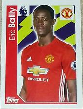 192 Eric Bailly MANCHESTER UNITED 2016/2017 Topps Merlin Premier League sticker