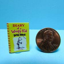 Dollhouse Miniature Replica of Diary of a Wimpy Kid Dog Days ~ B065