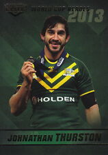 NRL 2014 ELITE RUGBY LEAGUE - Johnathan Thurston Case Card CC2/2 #NEW