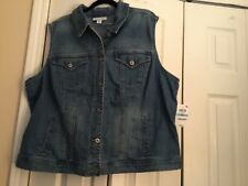 Style And Co Denim Vest