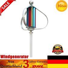 9 Stück Windrad Windkraftanlage 12V vertikale Wind Turbine Generator 100W