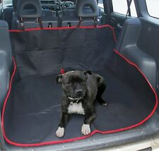 2IN1 impermeable auto posterior Asiento Cubierta Protector De Mascotas asiento trasero & Boot Liner Estera