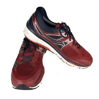 Saucony Men's Triumph ISO Series Everun Shoes Size 12 Red Blue Black Running