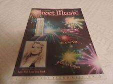 Sheet Music Magazine July 1990 Standard Piano Edition