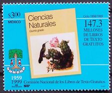 Mexico 1999 147 Million Free Books Government Program Education 40 Year Tree MNH