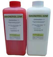 Wagnersil 22 NF Premium Dubliersilikon SilikonKautschuk Universal Abformsilikon