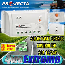 PROJECTA SC330 3 STAGE 12V & 24V 30AMP SOLAR CHARGE REGULATOR CONTROLLER LVD