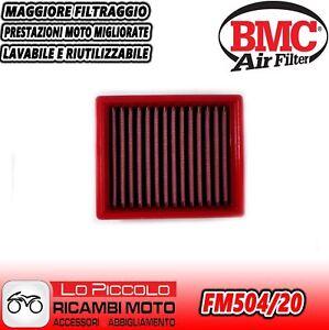 APRILIA SCARABEO 500 2003 2004 2005 2006 FILTRO ARIA SPORTIVO BMC LAVABILE