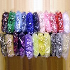 """QUALITY Organza Gift Bags - 3"""" x 4""""- Pkgs of 10, 20, or 30 - Choice of 22 Colors"""