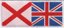 Boy  Scout  Badge combined NORTHERN IRELAND/UNION Flag