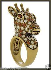 Heidi Daus Spotted Beauty Crystal Ring Sz6 Gorgeous SWAROVSKI CRYSTALS