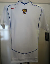 RUSSIA 2004/06 WHITE S/S AWAY FOOTBALL SHIRT BY NIKE SIZE ADULTS LARGE BRAND NEW