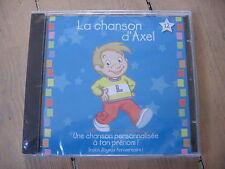CD LA CHANSON D'AXEL / JOYEUX ANNIVERSAIRE  / neuf & scellé