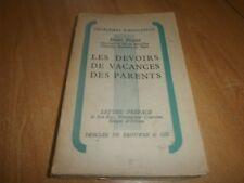 les devoirs de vacances des parents par Henri Pradel en 1935 (35)