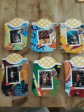 NBA McDonald's Nothing But Net French Fry Unused Container Set Jordan, Bird, Dr