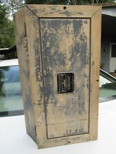 Antique Vintage Electrical  Box Wood Wooden  BERCO OF CANADA