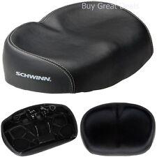 Schwinn No Pressure Bicycle Seat Ergonomic Comfort Padded Durable Bike Saddle