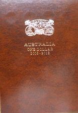 DANSCO AUSTRALIA $1 DE-LUXE PUSH IN COIN ALBUM 2008 to 2012 - VOLUME 2 only