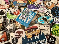 Random Assorted Lot Bundle Of 10 Authentic Outdoor Nature Preppy Stickers