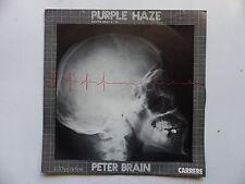 45 Tours PETER BRAIN AND BRAIN TRICK I oughta be a kid , purple haze 49355