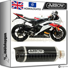 ARROW EXHAUST THUNDER ALUMINIUM DARK CARBY CUP HOM YAMAHA YZF 600-R6 2012 12