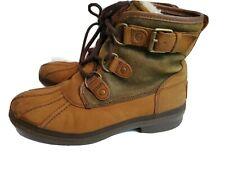 UGG Australia Cecile Waterproof Duck Boots Women's Size 6 Chestnut 1007999 🔥