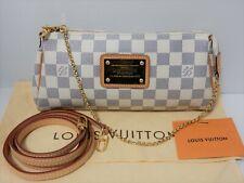 Louis Vuitton Damier Azur Accessories Pouch Eva Strap DU2120 Whites Pre-Owned