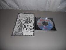 Vintage Where in The USA. is Carmen Sandiego CD ROM Windows 3.1, 95 &Mac
