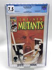 New Mutants #26 CGC 7.5 Off White-White Pages 1st Full App Legion Marvel