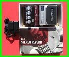 2009 HardWire RV-7 Stereo Reverb Pedal 7 Lexicon Reverbs AC Adapter *New in Box* for sale